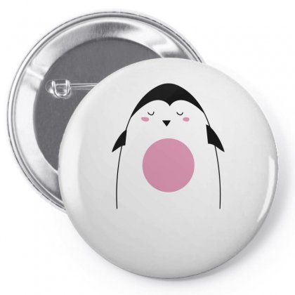 Cute Penguin Pin-back Button Designed By S4bilal