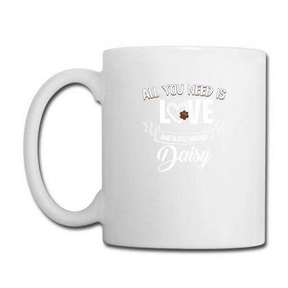 All You Need Is Love And A Dog Named Daisy For Dark Coffee Mug Designed By Sengul