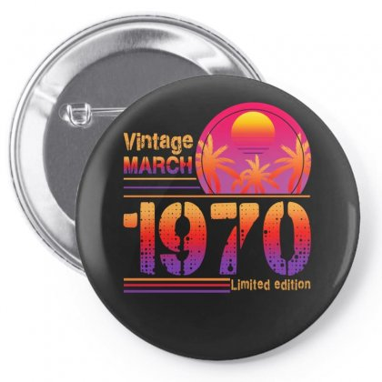 Vintage March 1970 Limited Edition Pin-back Button Designed By Sengul