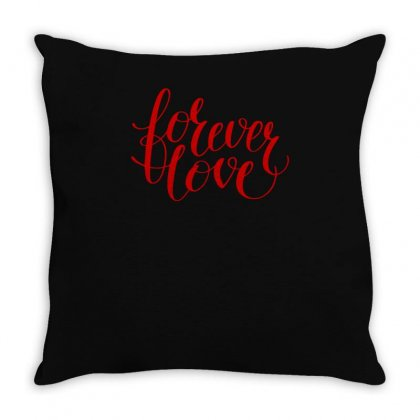 Forever Love Throw Pillow Designed By S4bilal