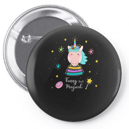 Funny But Magical Pin-back Button Designed By S4bilal
