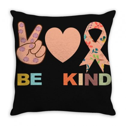 Be Kind Throw Pillow Designed By Bettercallsaul