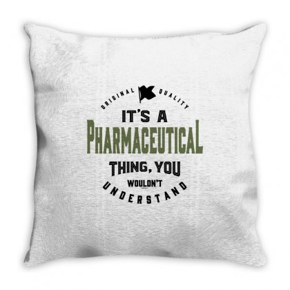 Pharmaceutical Throw Pillow Designed By Chris Ceconello