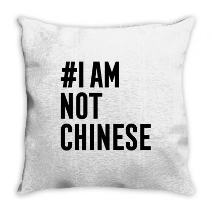 I Am Not Chinese Throw Pillow Designed By Honeysuckle