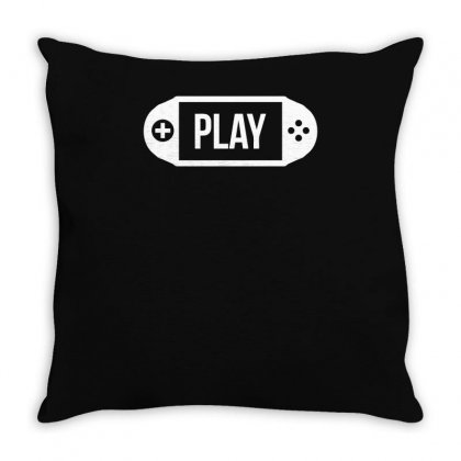 Old School Handheld Throw Pillow Designed By S4bilal
