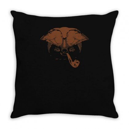 Smoking Throw Pillow Designed By S4bilal
