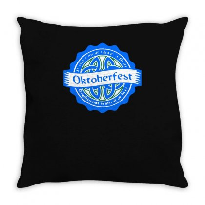Traditional Festival Of Beer Throw Pillow Designed By S4bilal