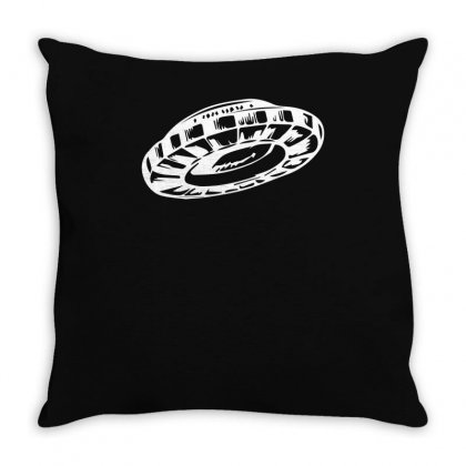 Ufo Throw Pillow Designed By S4bilal