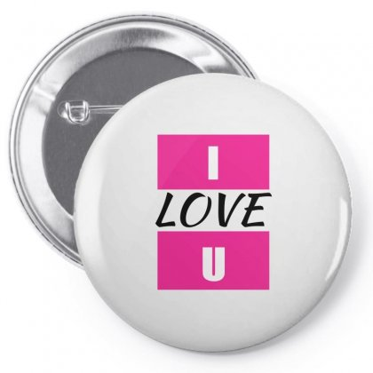 I Love You Pin-back Button Designed By Elegance99