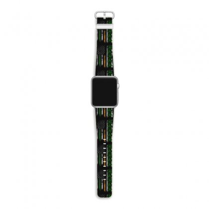 Irish American Ireland Flag Shamrock Apple Watch Band Designed By Kakashop