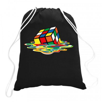 Rubik's Cube Cool Drawstring Bags Designed By Jablay