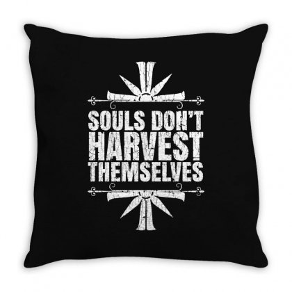 Harvest Themselves Throw Pillow Designed By Jablay