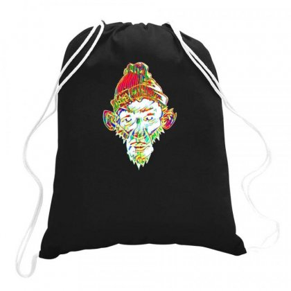 Kong Drawstring Bags Designed By Idealist-003