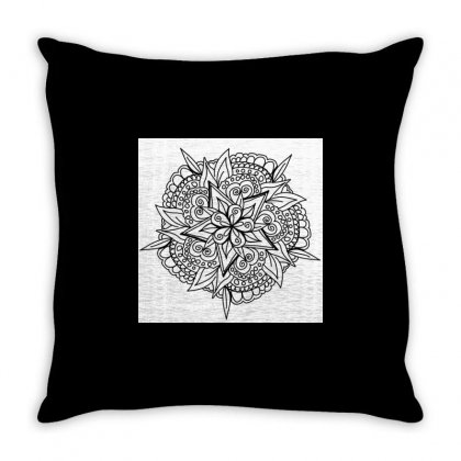 Drawing,ethnic,handicraft,unique,natural,handmade,old Fashion,teenager Throw Pillow Designed By Artist1