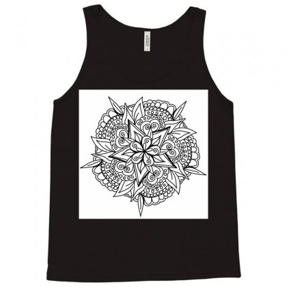 Drawing,ethnic,handicraft,unique,natural,handmade,old Fashion,teenager Tank Top Designed By Artist1
