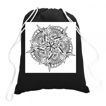 Drawing,ethnic,handicraft,unique,natural,handmade,old Fashion,teenager Drawstring Bags Designed By Artist1