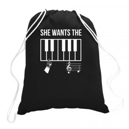She Wants The Drawstring Bags Designed By F4j4r