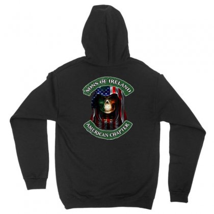 Son Of Ireland American Chapter Unisex Hoodie Designed By Kakashop