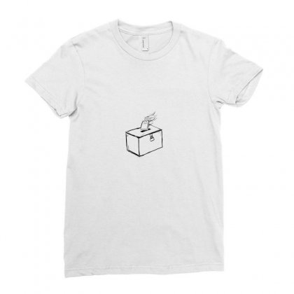 Donation Ladies Fitted T-shirt Designed By Preeproject