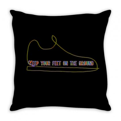 Keep Throw Pillow Designed By Idealist-003