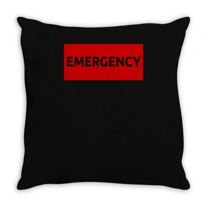 Emergency 02 Throw Pillow Designed By S4bilal