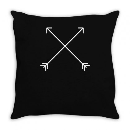 Hipster Arrows Throw Pillow Designed By S4bilal
