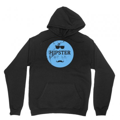 Hipster Logo Unisex Hoodie Designed By S4bilal