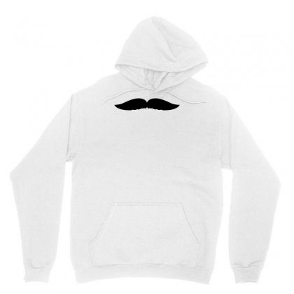 Hipster Mustache Unisex Hoodie Designed By S4bilal