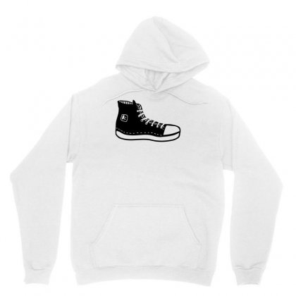 Hipster Shoes Unisex Hoodie Designed By S4bilal