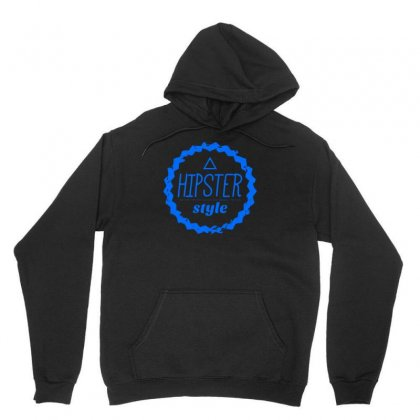 Hipster Style Logo Unisex Hoodie Designed By S4bilal