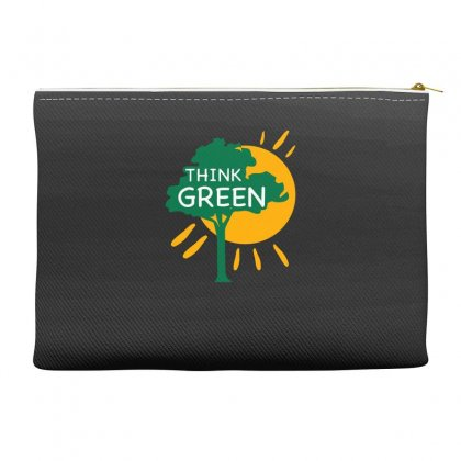 Think Green Accessory Pouches Designed By S4bilal