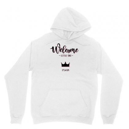 Welcome It´s A Girl Unisex Hoodie Designed By S4bilal