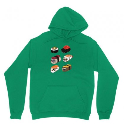 Sushi Hug Unisex Hoodie Designed By Coolmarcell