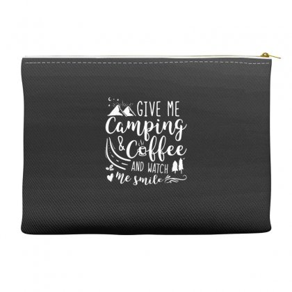 Give Me Camping And Coffee Accessory Pouches Designed By Hoainv