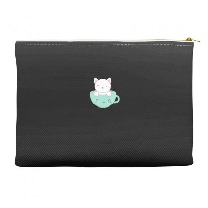 Lovely Coffee And  Cat Accessory Pouches Designed By Hoainv