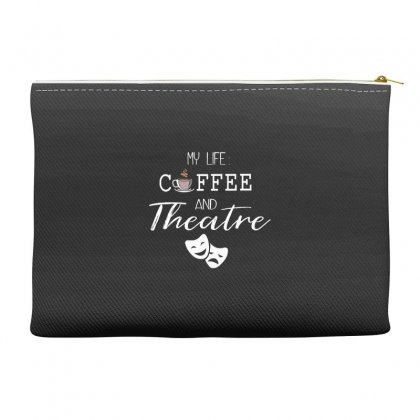 My Life Coffee And Theatre Accessory Pouches Designed By Hoainv