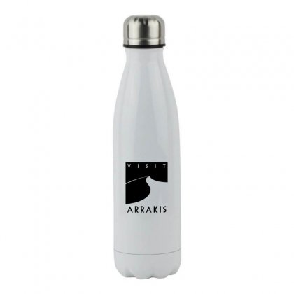 Visit Arrakis Stainless Steel Water Bottle Designed By Coolmarcell