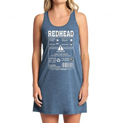 Redhead Requires Coffee Keep Dry Likes Beer Tank Dress Designed By Hoainv