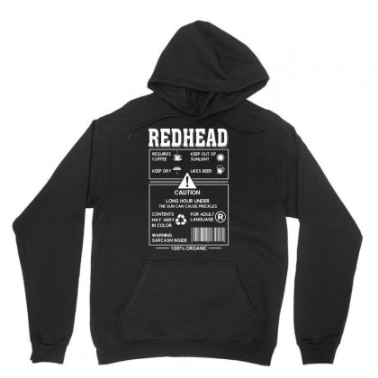 Redhead Requires Coffee Keep Dry Likes Beer Unisex Hoodie Designed By Hoainv