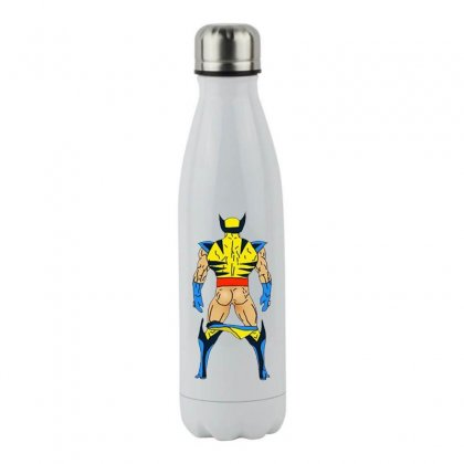 Funny Wolverine Sexy Butt Stainless Steel Water Bottle Designed By Hot Maker