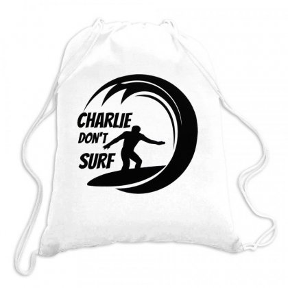 Charlie Dont Surf Drawstring Bags Designed By Hoainv