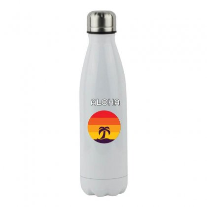 Surf Stainless Steel Water Bottle Designed By Hoainv