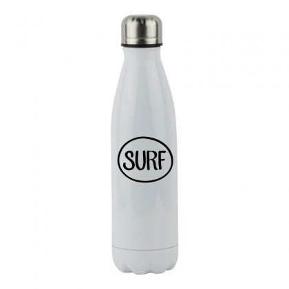 Surf T Shirt Stainless Steel Water Bottle Designed By Hoainv