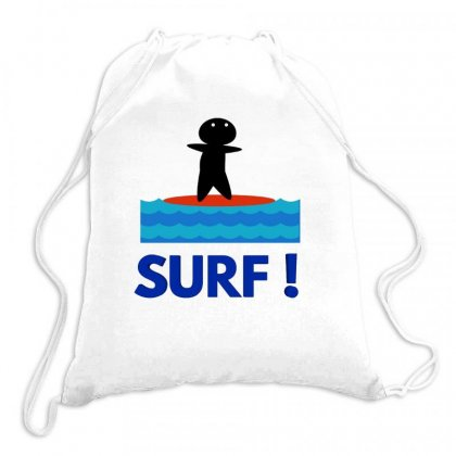 Surf Drawstring Bags Designed By Hoainv