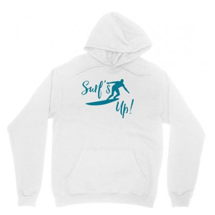 Surf's Up Unisex Hoodie Designed By Hoainv