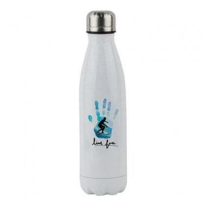 Surfing Line Free Stainless Steel Water Bottle Designed By Hoainv