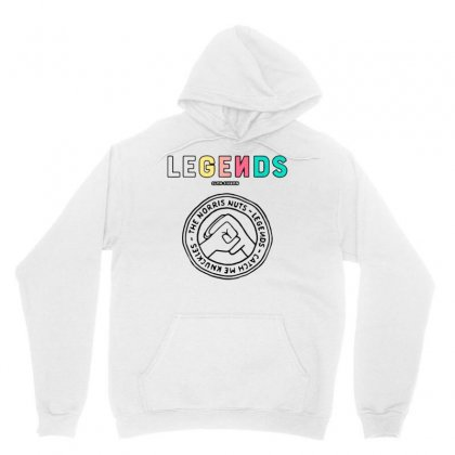 Norris Nuts - Legends Unisex Hoodie Designed By Rakuzan