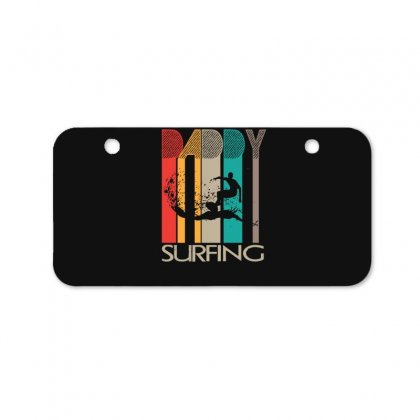 Daddy Surfing Bicycle License Plate Designed By Hoainv