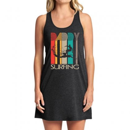 Daddy Surfing Tank Dress Designed By Hoainv
