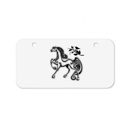 Magical Horse Bicycle License Plate Designed By Ianski